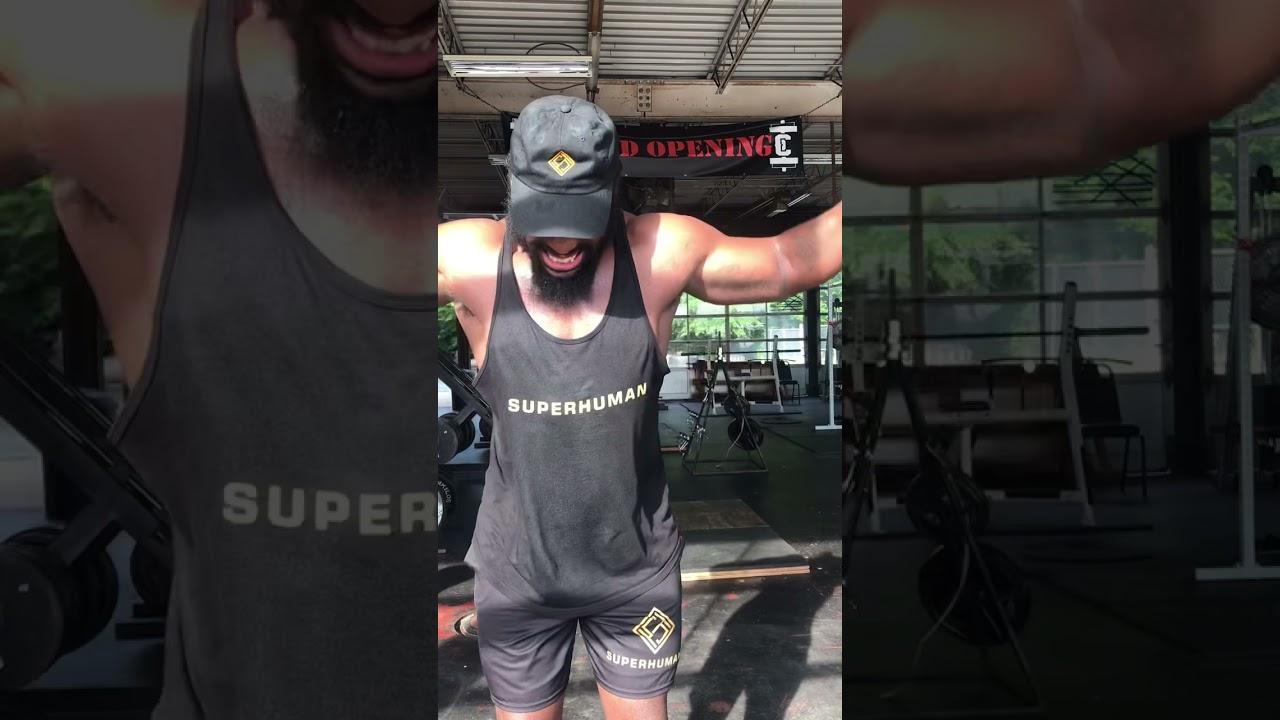 Black Superman Putting In Work - @SuperhumanWear