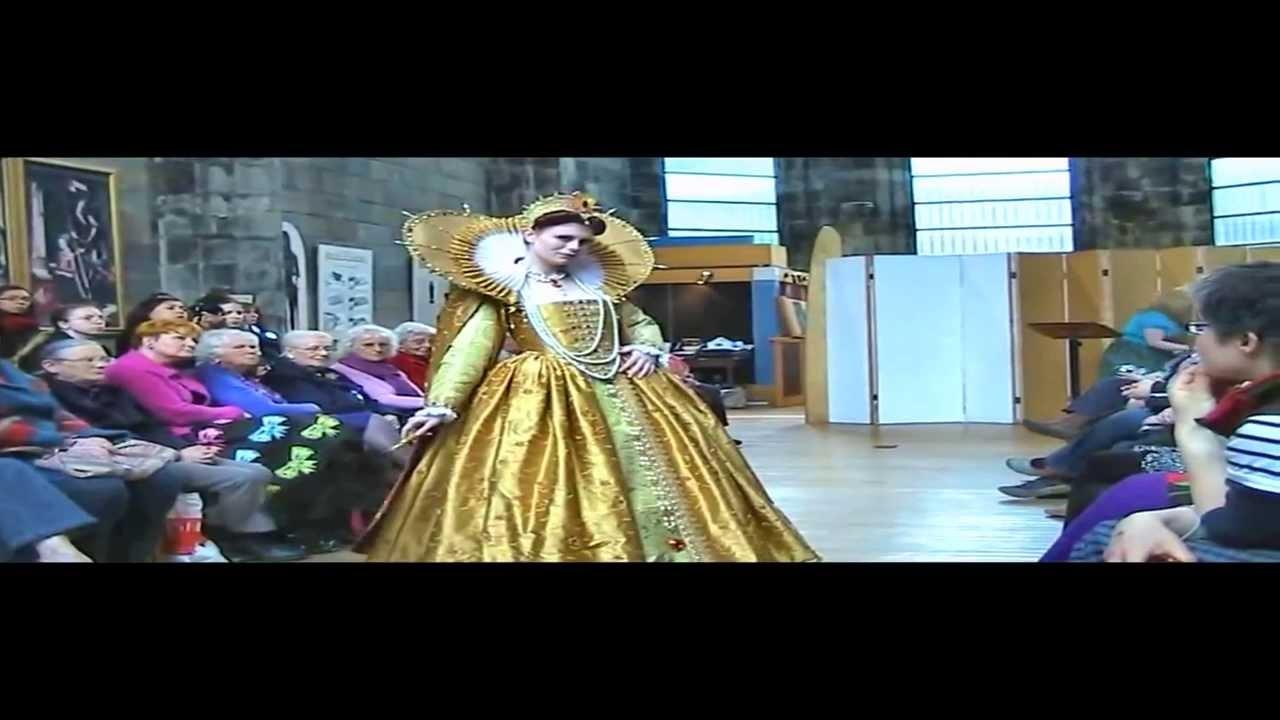 Tudor Fashion Show At Trinity Apse Kirk In Edinburgh Youtube