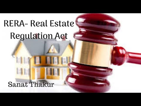RERA- Real Estate Regulation Act