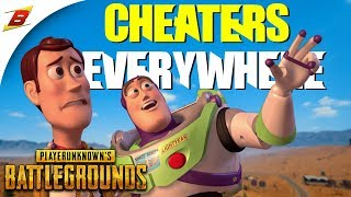 CHEATERS EVERYWHERE! (PUBG hacker compilation)