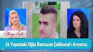 24 Yaşındaki oğlu Ramazan Çelikunal'ı arıyoruz - Müge Anlı ile Tatlı Sert 23 Eylül 2019