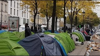 Migrant camps emerge in Paris after Calais 'Jungle' dismantled(The number of asylum-seekers seeking shelter on the streets of Paris has noticeably jumped since the start of the week and the closure of the notorious Calais ..., 2016-10-29T11:25:24.000Z)