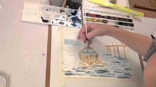 Рисунок акварелью для начинающих