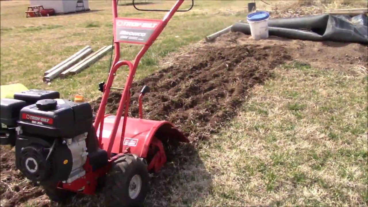 Incroyable Troy Bilt Bronco Tiller Review