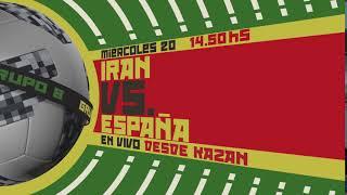 IRAN vs ESPAÑA, por Canal 10 en HD