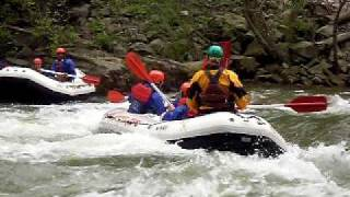 Ocoee River Rafting - Eric Surfing Hollywood