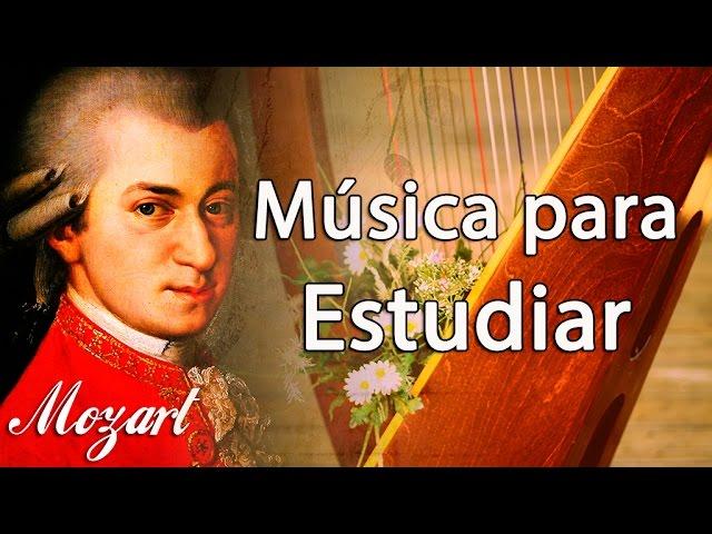 Música Clásica Para Estudiar Y Concentrarse Mozart Música Relajante Para Trabajar Instrumental Youtube