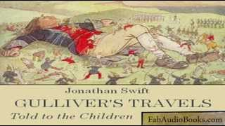 GULLIVER'S TRAVELS by Jonathan Swift - Told to the Children by John Lang - full unabridged audiobook