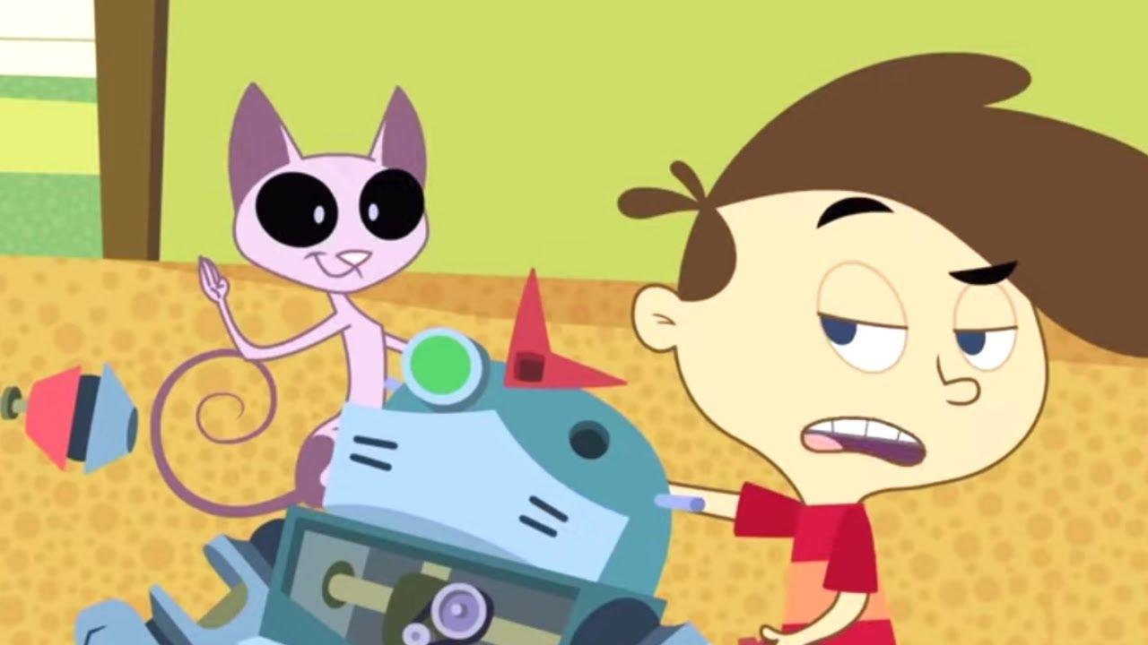 El pegamento y Yo + Lamentaras el Show 🐈 Kid Vs. Kat 🐈 Niño Vs. Gato - WildBrain