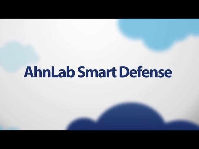 AhnLab Smart Defense: English