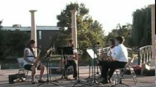 Joplin: The Entertainer, Saxophone Quartet