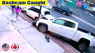 Ultimate North American Cars Driving Fails Compilation - 204 [Dash Cam Caught Video]