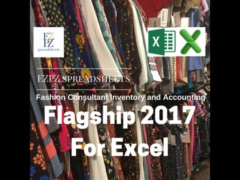 EZPZ Spreadsheets - Flagship Version for Excel - LuLaRoe Inventory and Accounting Spreadsheet