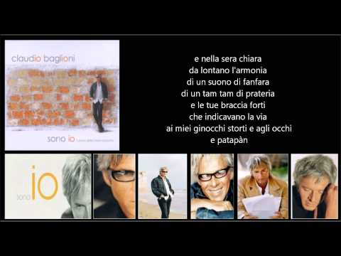 CLAUDIO BAGLIONI - Patapàn
