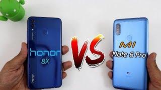 Redmi Note 6 Pro Vs Honor 8X Comparision !! Speed Comparision HINDI