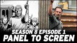 The Walking Dead Season 8 Premiere - Show vs. Comic!