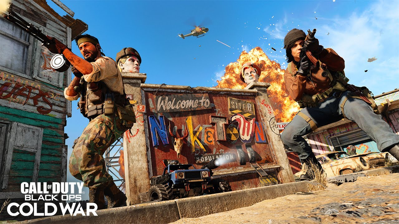 Call of Duty: Black Ops Cold War map Nuketown '84 coming next week