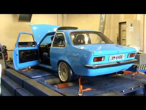 Chris Opel Kadett C 1.3 Turbo Dyno 2