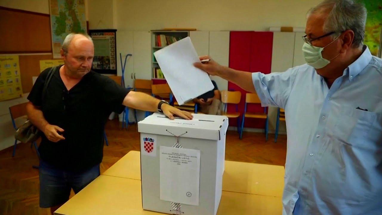 Croatians Vote Amid Coronavirus Restrictions