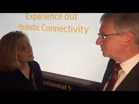 Continental interiors at 2016 CES