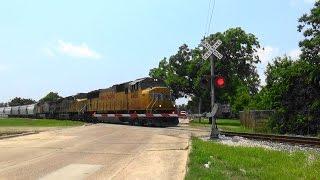 UP 4486 North at Victoria, TX With Friendly Engineer