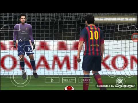 Gameplay #3: Pes 2014 Psp Android