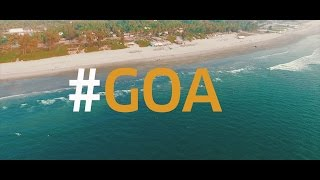a glimpse of mandrem goa best goa beach video in 4k