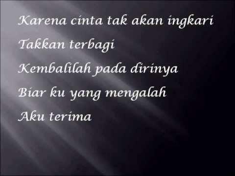 cinta begini with lyrics ( cover ) .wmv