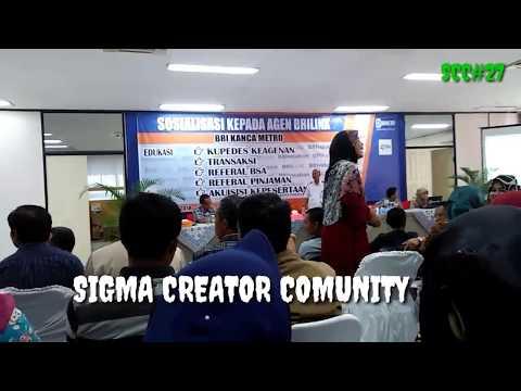 #SIGMACREATORCOMUNITY . ACARA SOSIALISASI AGEN BRILINK DI METRO LAMPUNG