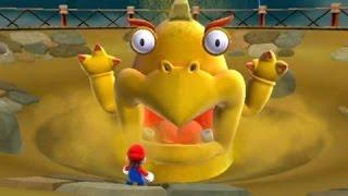 Super Mario Galaxy 2 - 100% Walkthrough Part 15 - Slipsand and Upside Dizzy Galaxy