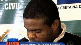 Traficante é preso no morro do Urubu (RJ)