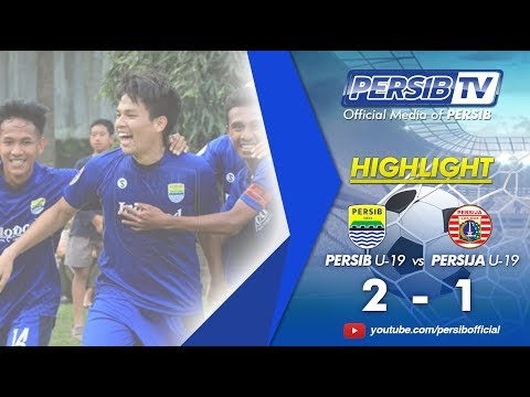 [Highlight] PERSIB U-19 (2) Vs (1) Persija U-19 Liga 1 U-19 2017