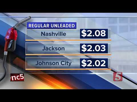 Gas prices back on the rise in Tennessee