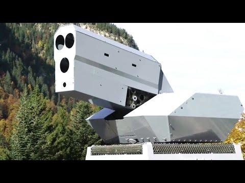 Rheinmetall Defence - High Energy Laser (HEL) Combat Simulation & Field Testing [720p]