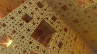 menger sponge 4k mandelbulber 3d fractal animation