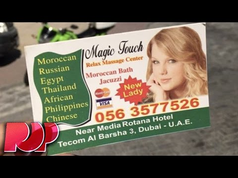 Taylor Swift Is The New Face Of This Arab Massage Parlor - What?! thumbnail