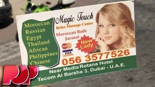 Taylor Swift Is The New Face Of This Arab Massage Parlor - What?!