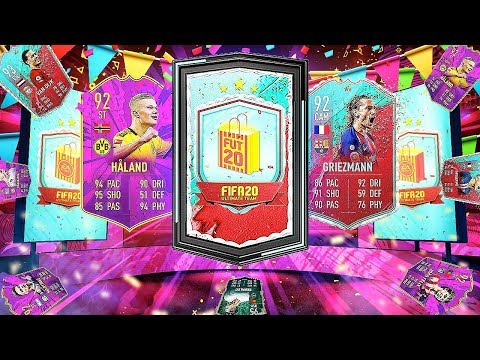 9 x GUARANTEED PARTY BAG 3 PACKS! FIFA 20 Ultimate Team