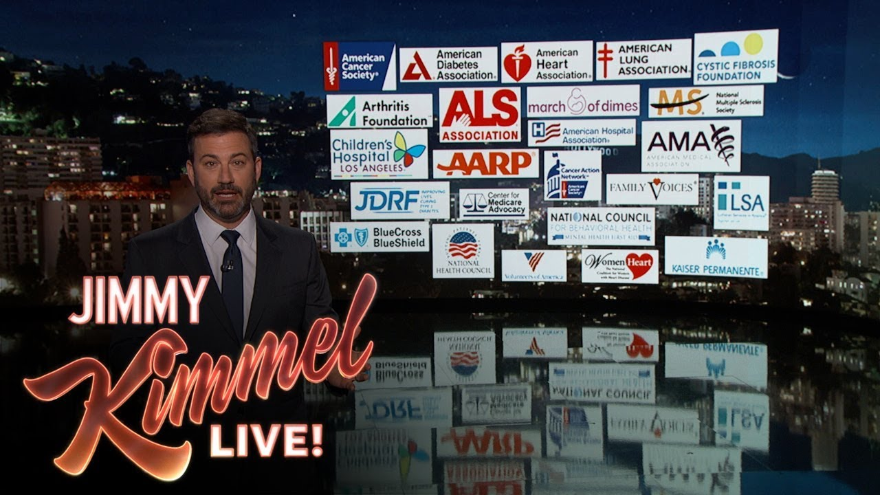 Jimmy Kimmel on healthcare, politics: 'Trump is even cagier' than the Kardashians