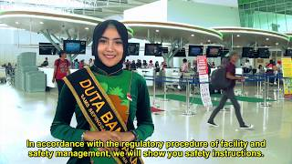 Safety Briefing AP 1 Lantai 1 dan 2 (Bandara Sultan Aji Muhammad Sulaiman Sepinggan)