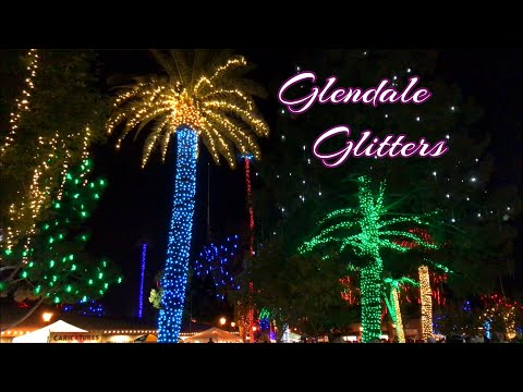 Glendale Glitters Christmas Festival in Arizona