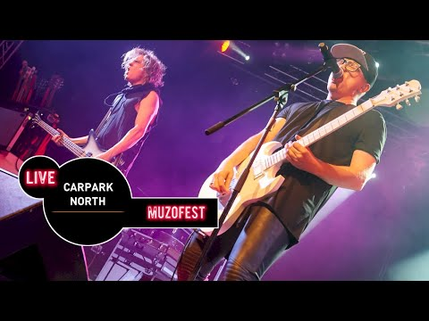 Carpark North Live at MUZOFEST 2015