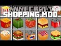Minecraft SHOPPING MOD / OPEN UP STORES AND SELL PRODUCTS!! Minecraft