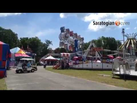 The Saratoga county fair starts tmrw!! Filled with rides, games, animals, food and treats!