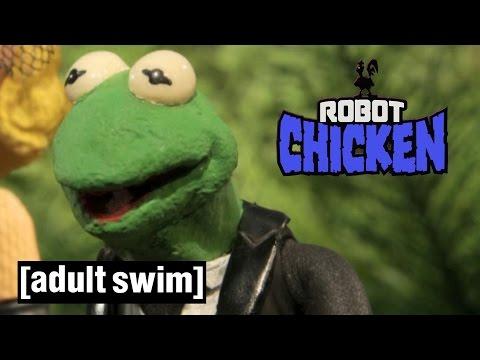 The Muppets Murder Mystery | Robot Chicken | Adult Swim