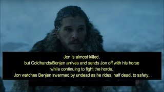 S07 E05 Preview: The Dead Are Coming! - Game of Thrones Season 7 Episode 5 Trailer
