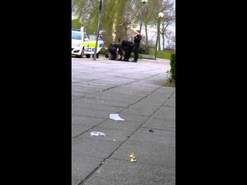Police brutality in milton keynes