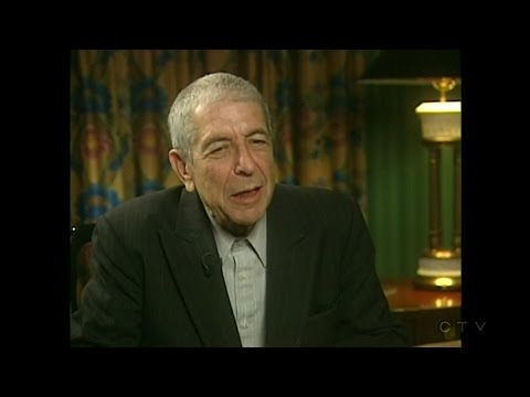 Leonard Cohen interview: Induction into the Canadian Songwriters Hall of Fame (2006)