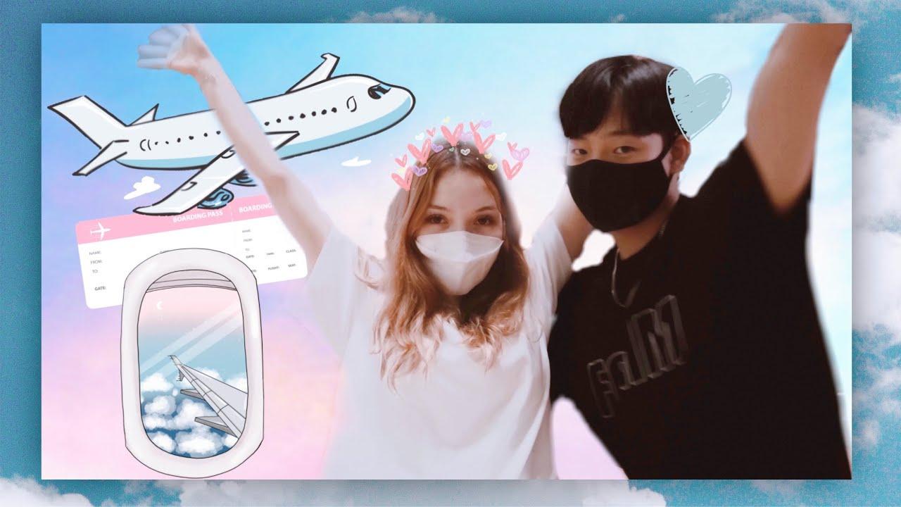 Türkiye'ye gidiyoruz! Aileme sürpriz yaptım,uçağı kaçırıyorduk | Sürpriz vlog ✈️🥳