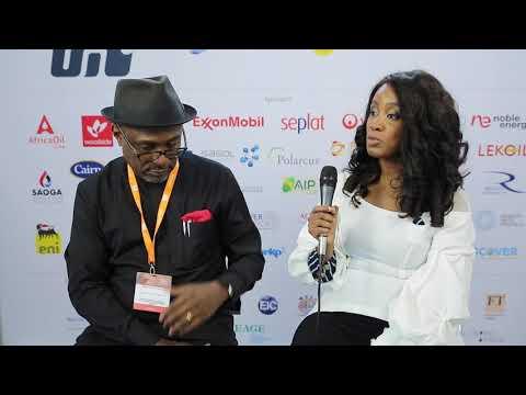 Simbi Kesiye Wabot at Africa Oil Week 2017